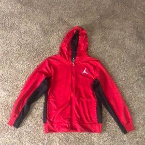 Jordan hooded jacket with pockets